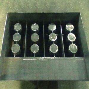 Комплект для ВСШ-2 (стаканы (круглые, квадратные 3шт.) съемные+прижимка)