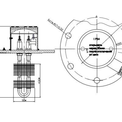 Блок ТЭНБВ-10/Z-220Т(терморегулятор)