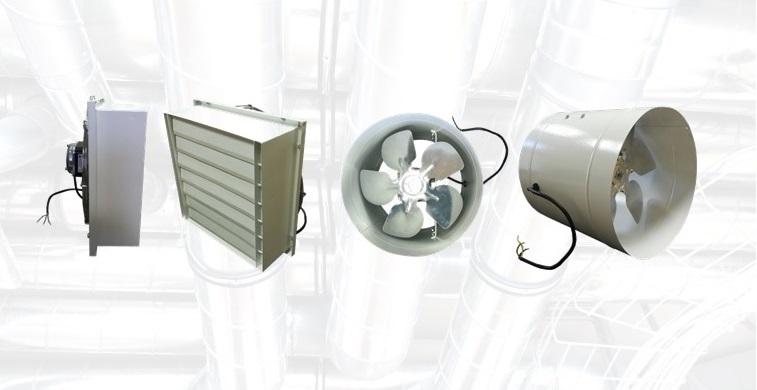 Фото Осевые вентиляторы серии ВОК и ВО