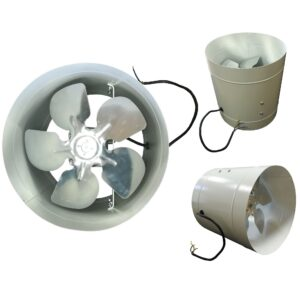 Вентилятор осевой канальный (ВОК)