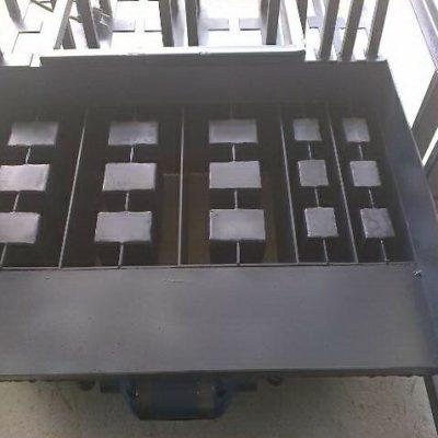 Вибростанок ВСШ-4П (3 блока с круглыми пустотами + 2 полублока)