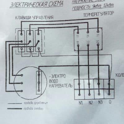 Электрический котел (водонагреватель) ЭВПМ-9,0/380