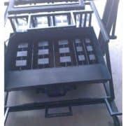 Вибростанок ВСШ-4П (3 блока с квадратными пустотами + 2 полублока)